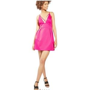 Fuchsia dress! Like new From top shop